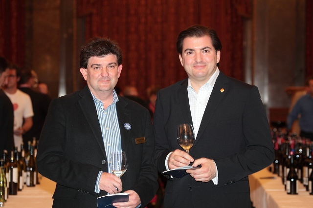 Andrew Cheesman (Wine Australia Supremo) and Matthew Jukes