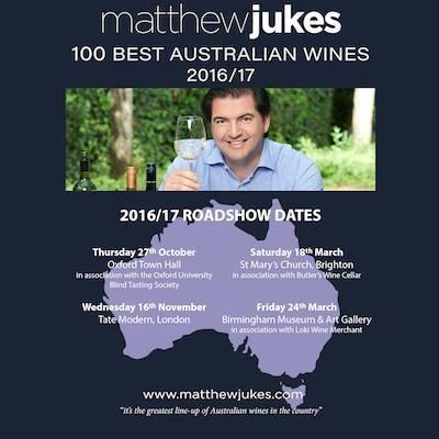 Matthew Jukes - 100 Best Australian Wines Roadshow